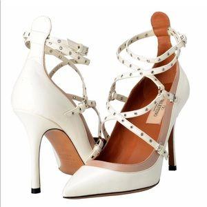Authentic Valentino Love Latch Heels!